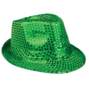 Green Sequin Hat