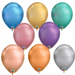 Qualatex Balloons Chrome Mix