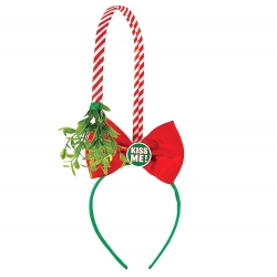 Mistletoe Kiss Me Headband