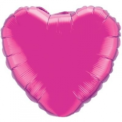Hot Pink Heart 45cm