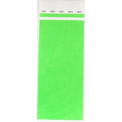 ID Wristbands 100 pack - Green