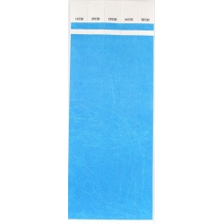 ID Wristbands 100 pack - Blue